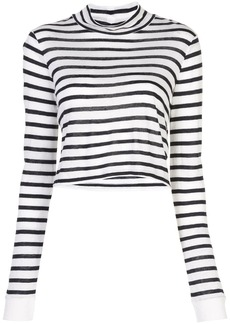 T by Alexander Wang long-sleeved striped T-shirt
