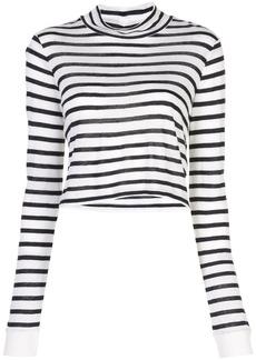 T by Alexander Wang long-sleeved striped T-shirt