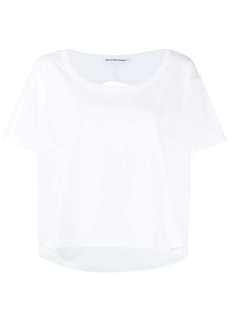 T by Alexander Wang loose-fit plain T-shirt