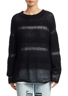 T by Alexander Wang Loose Knit Sweater & Tee Liner