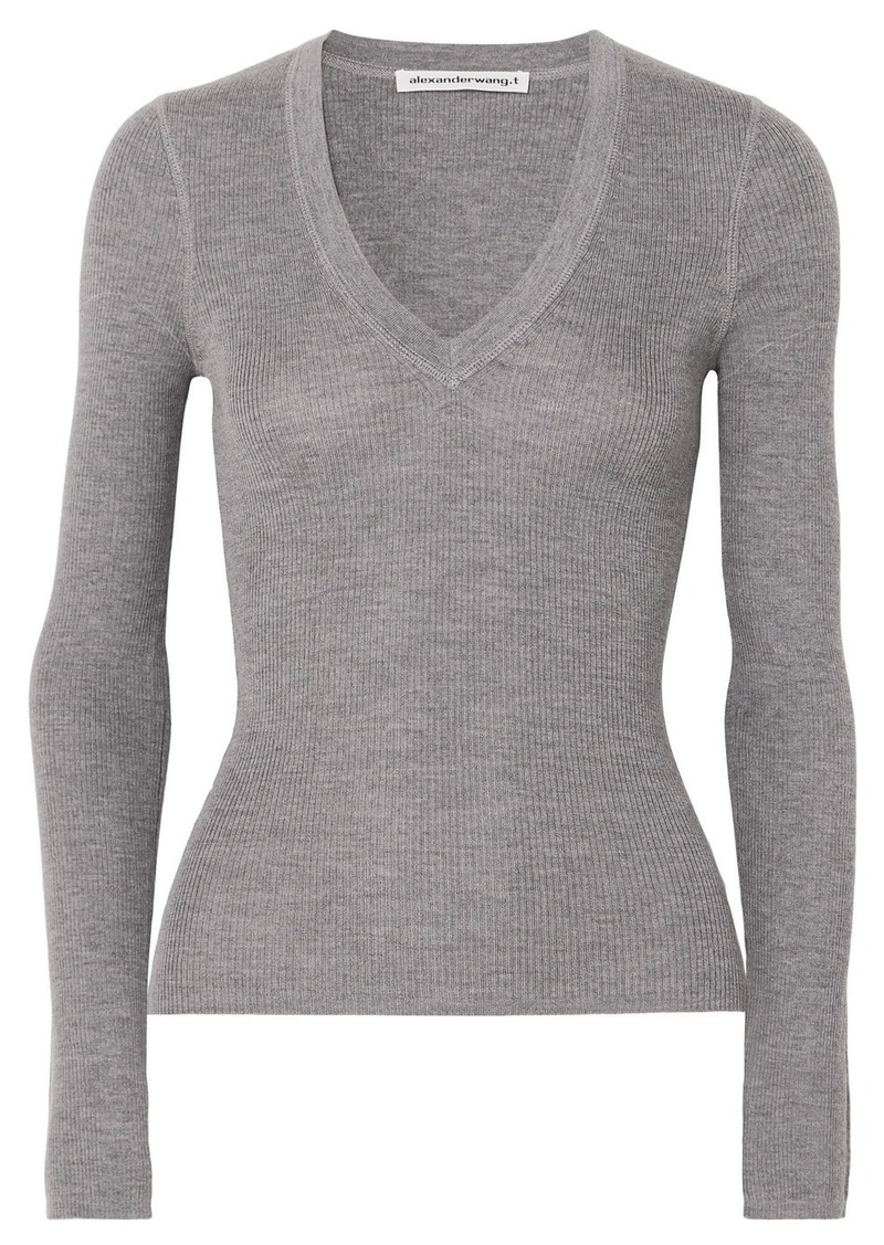 T by Alexander Wang Merino Wool Sweater