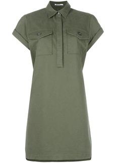 T by Alexander Wang military shirt dress