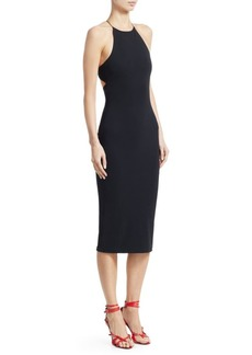 T by Alexander Wang Open Back Jersey Dress