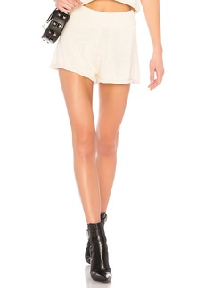 T by Alexander Wang Open Stitch Shorts