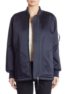 T by Alexander Wang Oversize Bomber Jacket