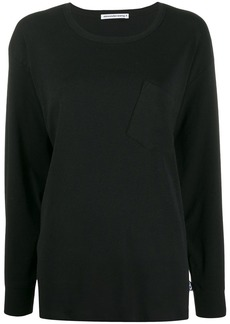 T by Alexander Wang oversized crew-neck top