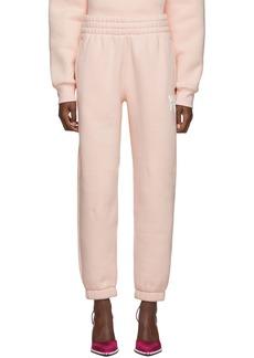 T by Alexander Wang Pink Dense Fleece Lounge Pants
