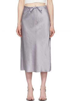 T by Alexander Wang Purple Wash & Go Skirt