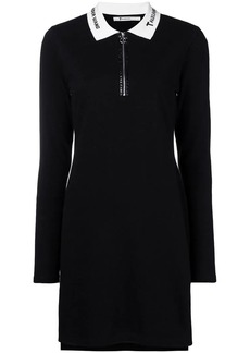 T by Alexander Wang quarter zip polo dress