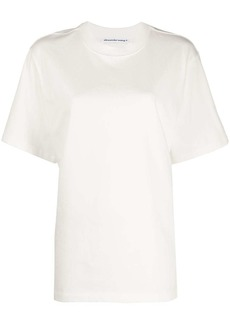 T by Alexander Wang raised logo relaxed-fit T-shirt
