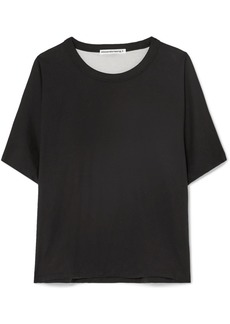 T by Alexander Wang Reversible Cotton-jersey T-shirt