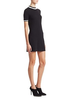 T by Alexander Wang Rib-Trim T-Shirt Dress