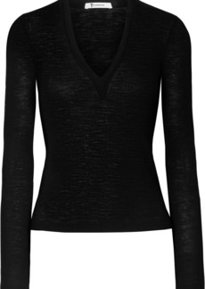 T by Alexander Wang Ribbed Wool Sweater