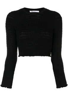 T by Alexander Wang round neck jumper