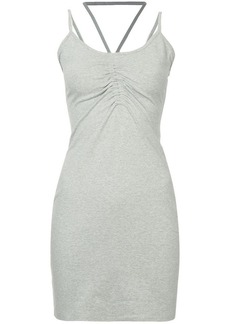 T by Alexander Wang ruched detail dress