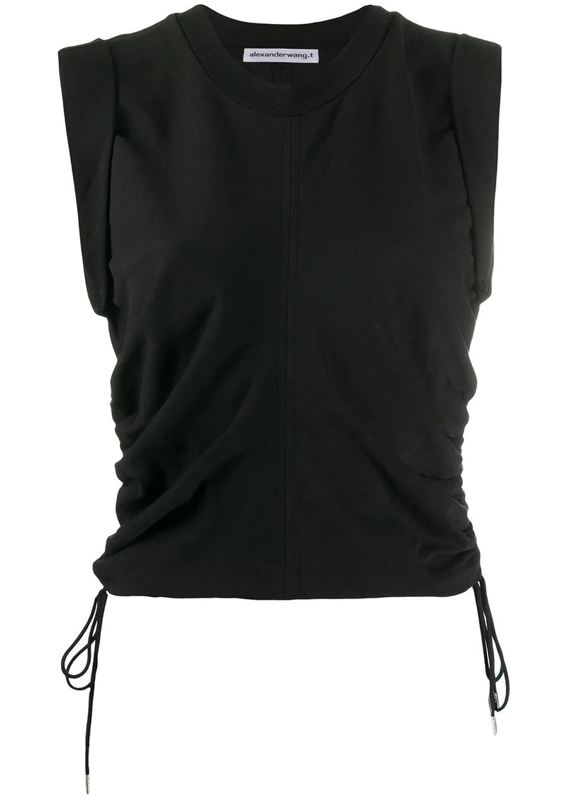 T by Alexander Wang ruched detail tank top