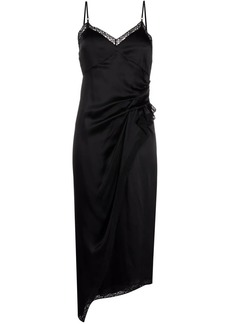 T by Alexander Wang ruched slip dress