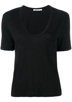 T by Alexander Wang ruched T-shirt