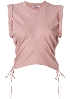 T by Alexander Wang ruched vest top