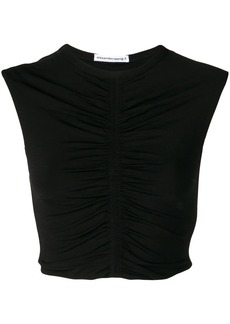 T by Alexander Wang ruching detail top