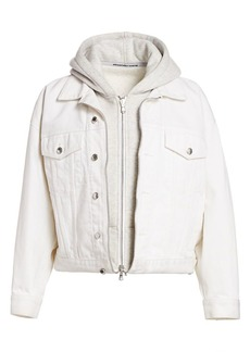 T by Alexander Wang Runaway Game Layered Trucker Jacket