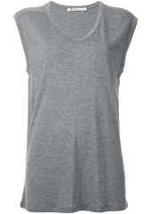 T by Alexander Wang scoop neck vest