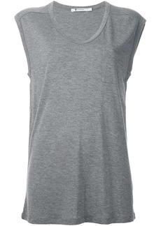 T by Alexander Wang scoop neck vest