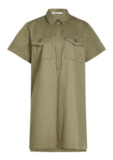 T by Alexander Wang Shirt Dress with Cotton