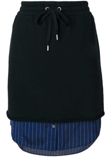 T by Alexander Wang shirt hem skirt