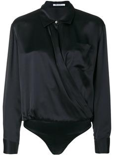 T by Alexander Wang shirt-style bodysuit