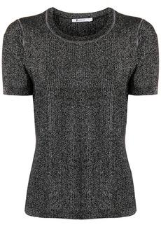 T by Alexander Wang short sleeve knit top