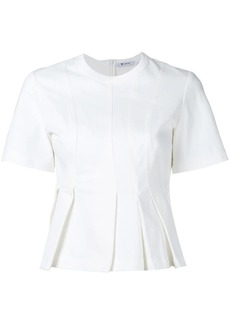T by Alexander Wang short-sleeved flared top