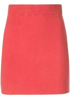 T by Alexander Wang short straight skirt