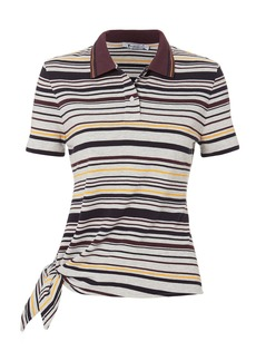 T by Alexander Wang Side Knot Polo