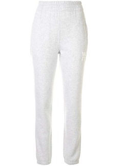 T by Alexander Wang side logo track pants