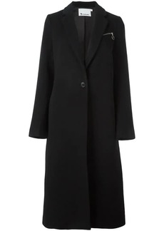 T by Alexander Wang single breasted coat