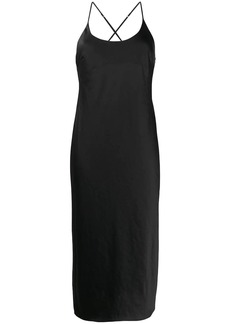 T by Alexander Wang spaghetti strap dress
