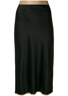 T by Alexander Wang straight-fit midi skirt