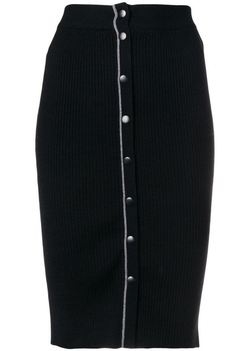 T by Alexander Wang stretch fit skirt