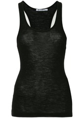 T by Alexander Wang stretch fit tank top