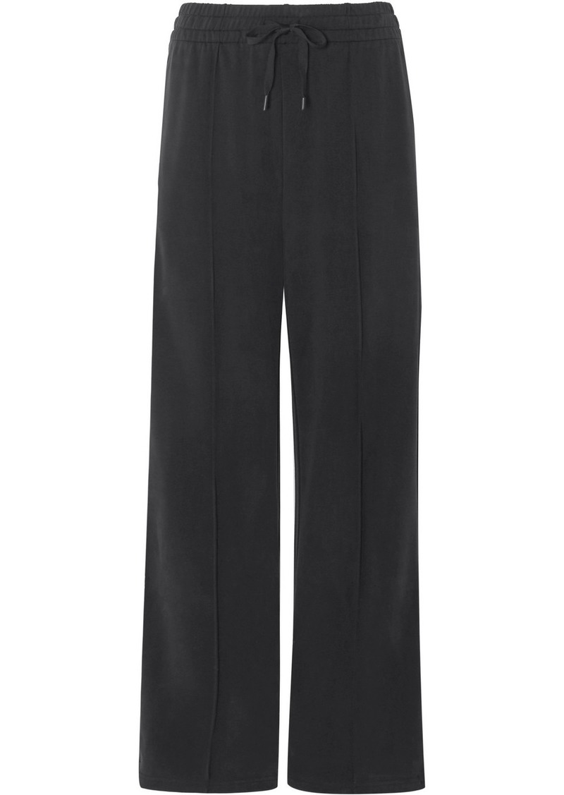 T by Alexander Wang Stretch-jersey Track Pants