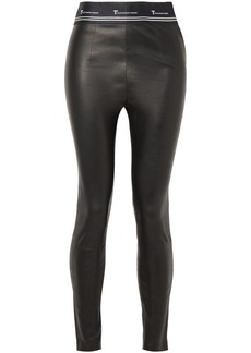 T by Alexander Wang Stretch-leather Leggings