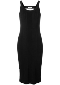 T by Alexander Wang stretch open back dress