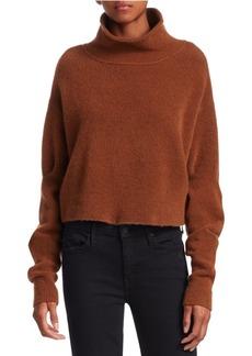 T by Alexander Wang Stretch Wool Turtleneck Sweater