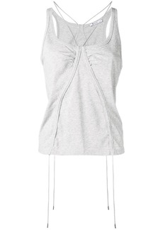 T by Alexander Wang string tank top