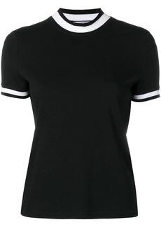 T by Alexander Wang stripe-detail T-shirt