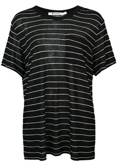 T by Alexander Wang striped crewneck T-shirt
