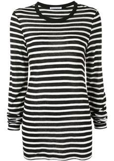 T by Alexander Wang striped jersey T-shirt