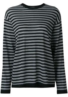 T by Alexander Wang striped jumper