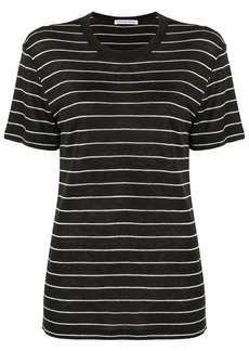 T by Alexander Wang striped knitted T-shirt